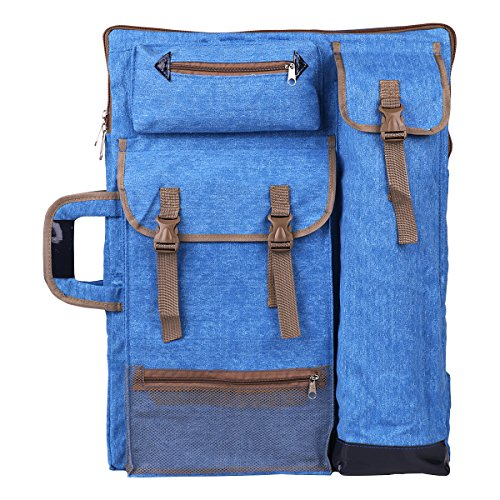 (Transon Art Portfolio Case Artist Backpack Canvas Bag Large 26
