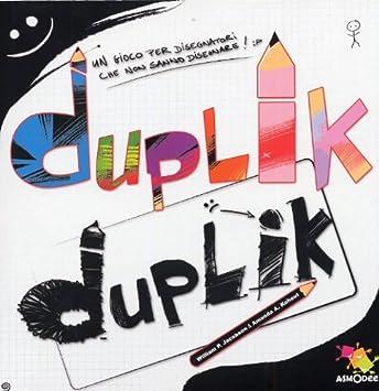 Asterion Duplik - Juego de Mesa para Dibujar (Contenido en Italiano): Amazon.es: Juguetes y juegos