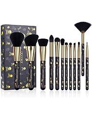 Docolor Goth Makeup Brush Set,12Pieces Professional...