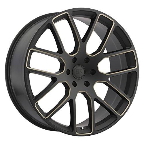 BLACK RHINO Rim Kunene 22X9.50 6x135 30 Matte Blk w/Dark Tint Spokes (Qty of (Blk Spoke)