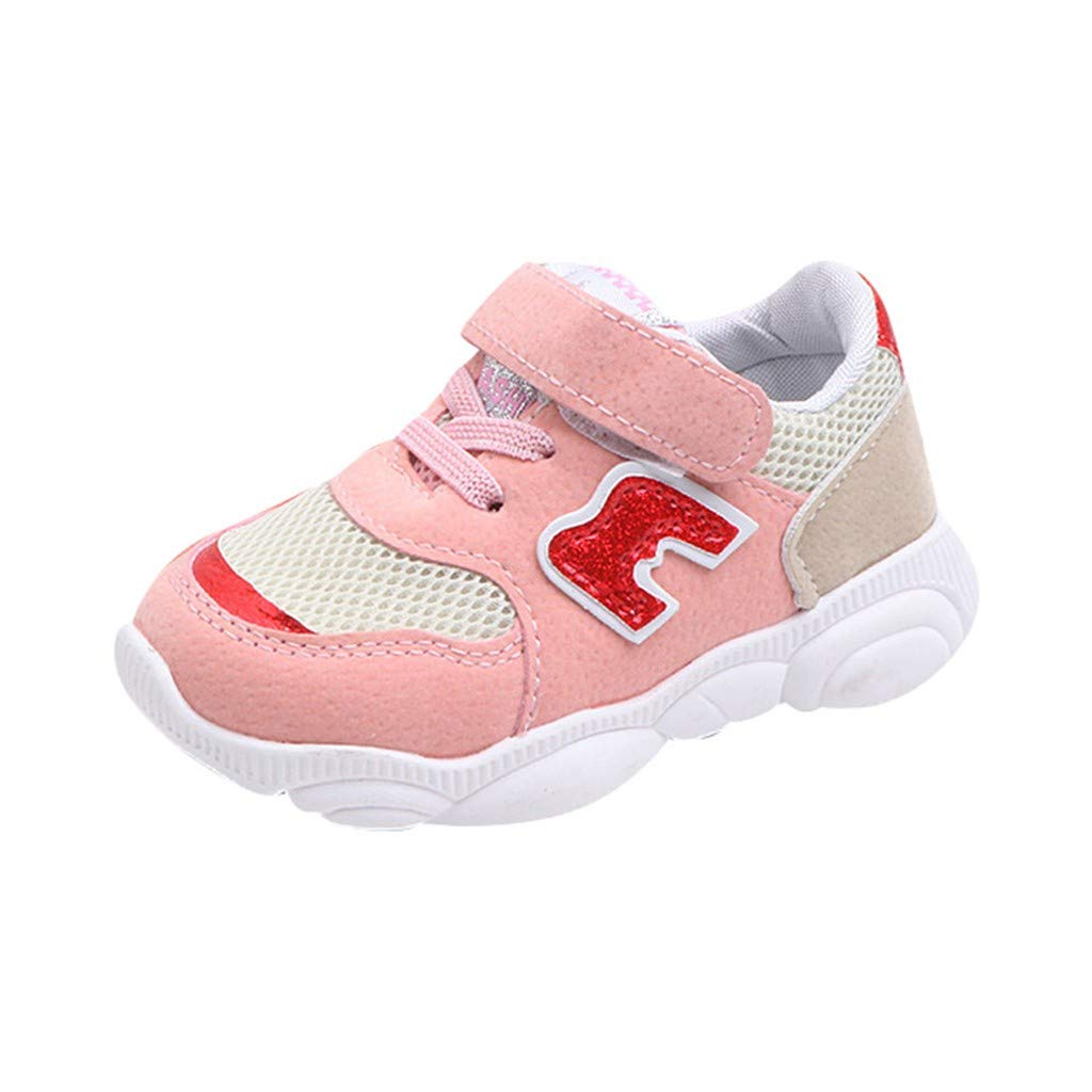 For 1-3.5 Years Toddler Little Kids Baby Boys Girls Mesh Sneakers Shoes Anti-Slip Rubber Sole Sport Boots