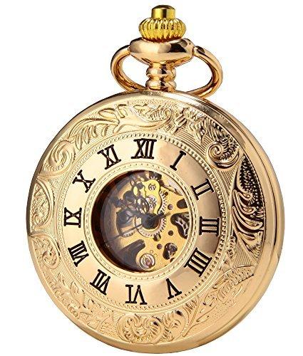 Gold Face Pocket Watch - 8