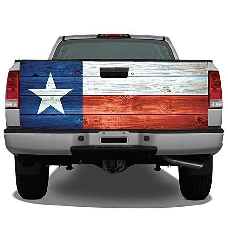 Amazon.com: Bandera de Texas madera envejecido camión portón ...