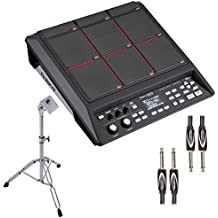 Roland SPD-SX Percussion Pad with PDS-10 Stand & Dual 1/4 to 1/4 Cable