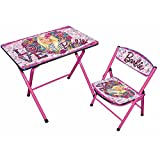 Ramson Barbie Study Table And Chair For Kids