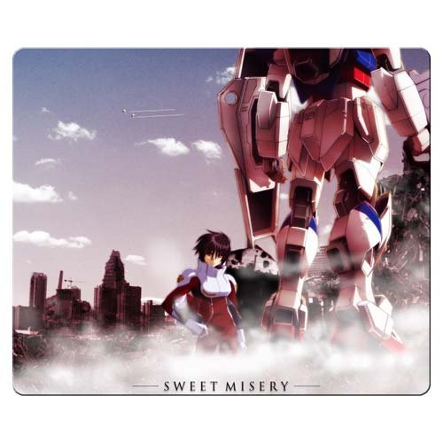 26x21cm 10x8inch Mouse Mat cloth and rubber long-lasting Custom Pattern Mobile Suit Gundam Seed