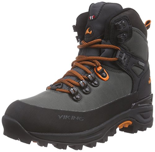 Trekking y Senderismo Textile Charcoal Unisex Zapatillas Adulto Gris Material de 7702 Gaupe GTX Viking Black de Grau sintético ABSXwxq