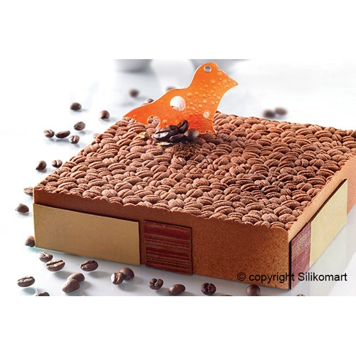 Silikomart Professional Coffee-Bean Silicone Mat KFE01 by Silikomart Professional (Image #3)