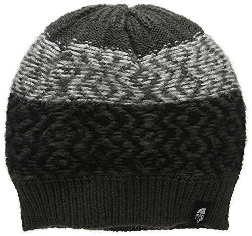 The North Face Women's Tribe N True Beanie, Graphite Grey/Tnf Black, One Size (North Face Beanie Lightweight The)