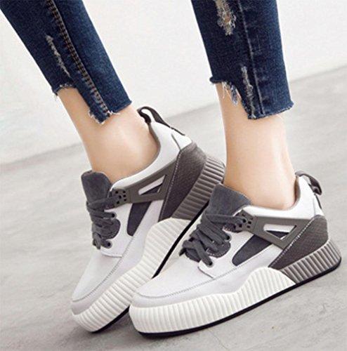 Mei Fall Damen Casual Schuhe Flache Schuhe Sport Schuhe Student Laufschuhe, US6/EU36/UK4/CN36