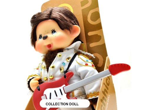 Sekiguchi Authentic Limited Edition & Collection Doll Monchhichi Elvis Presley 8'' (20 cm) . by Sekiguchi (Image #3)
