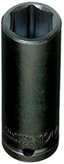 "product image for Stanley Proto J7319M 6 Point 1/2"" Drive Impact Socket, 19mm"