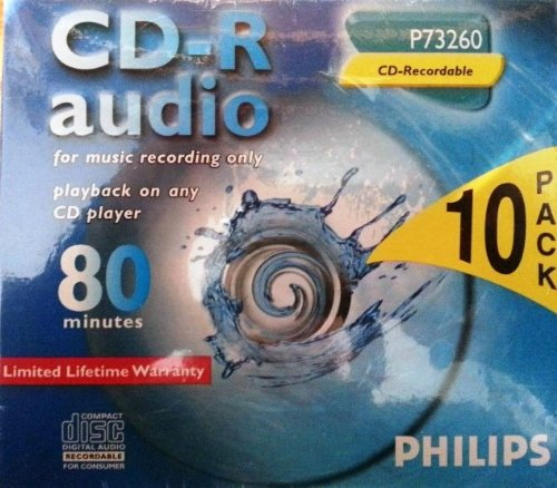Philips CD-R Audio 10-Pack
