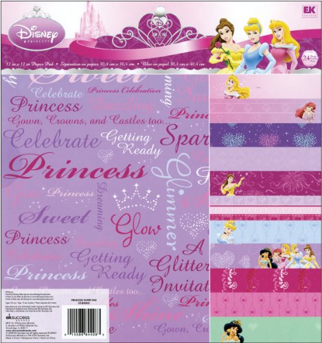 (Ek Success Disney Princess Decorative Paper Pad Pack)