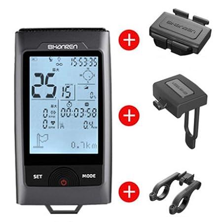 GPS bicicletas odómetro de la computadora con el sensor de ...