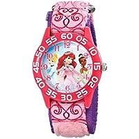 Disney Kids 'w001667Princess Analog Display Rosa Reloj de cuarzo analógico