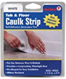 Red Devil 0170 Caulk strip Tub & Wall Wide White 1 1/4-inch by 5-feet