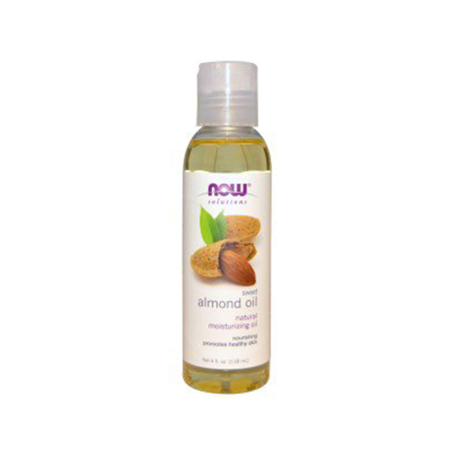 Now Solutions Sweet Almond Oil, 4-Ounce