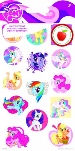 Sandylion My Little Pony Dimensional Stickers, (Scented Pony)