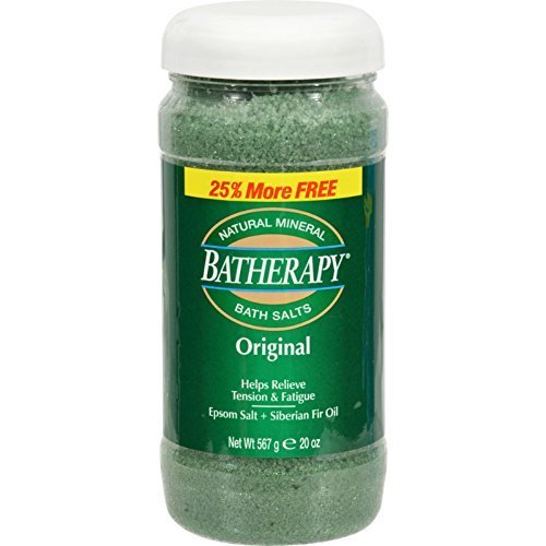Queen Helene Original Batherapy Mineral Bath Salt, 16 Ounce -- 6 per case. (Batherapy Salts Bath Mineral)
