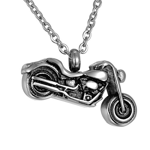 motorcycle urn necklace - 1
