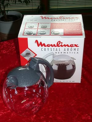 Moulinex AV3503 cafetera Crystal Arome Antracita: Amazon.es: Hogar