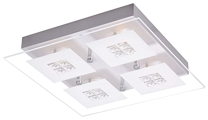 Plafoniere Led Per Bagno : Haysom interiors designer spazzolato a led per bagno con inserti
