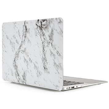 Funda MacBook Air 13, patrón de mármol Dowswin carcasa ...