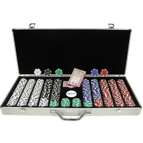 Trademark 650 Landmark Casino 11.5 Gram Poker Chips with In Alum Case (Landmark Casino Chip)
