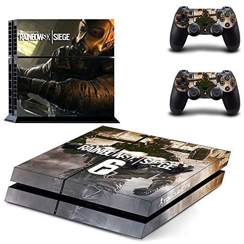 Playstation 4 Skin Set - FPS Game - HD Printing Vinyl Skin Cover Protective for PS4 Console and 2 PS4 Controller by Amity Partners