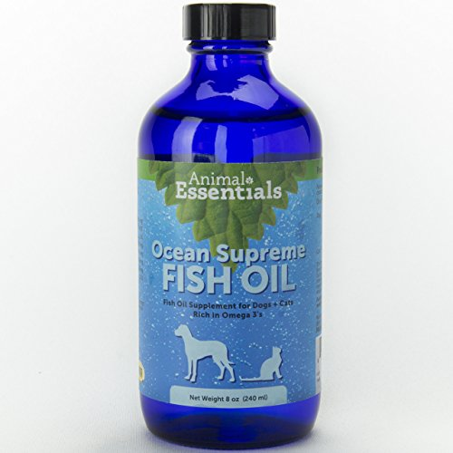 Animal Essentials Fish Oil - Animal Essentials NEW Ocean Omega Supreme, Fish Oil for Dogs and Cats, 8 Ounces
