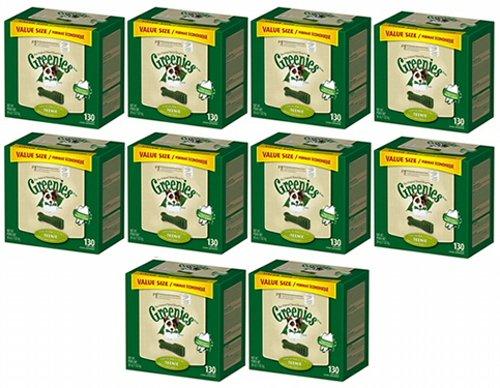 Greenies Dental Chews Value Size Teenie 1300ct 360oz(10 x 36oz Tubs) by Greenies