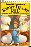 Some of the Adventures of Rhode Island Red by Stephen Manes front cover