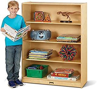"""product image for Jonti-Craft 5229JC Tall Fixed Straight-Shelf Bookcase, 48"""" Height"""