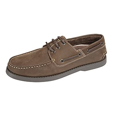 Shoes Handbags Dek Mens Leather Non Marking Moccasin Boat