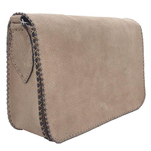 Genuino borsa a mano in pelle di cuoio per le donne
