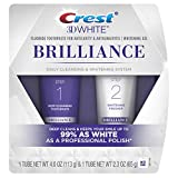 white Crest 3D White Brilliance Toothpaste and Whitening Gel System, 4.0oz and 2.3oz