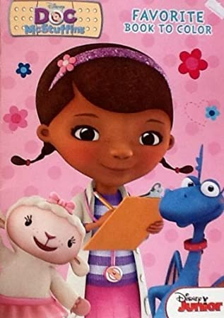 disney junior doc mcstuffins coloring book 32 pages tear share - Doc Mcstuffins Coloring Book