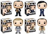 Pop! Movies: The Godfather Don Vito Corleone, and his sons Michael, Sonny, and Fredo! Vinyl Figures Set of 4