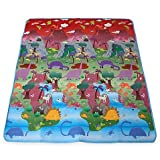 Prince Lionheart City/Dinosaur Made of Polyurethane Foam, Fun, Colorful, Vibrant, Durable PlayMAT
