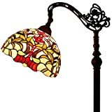Tiffany Style Reading Floor Lamp Table Desk Lighting Magnolia Design W12H64