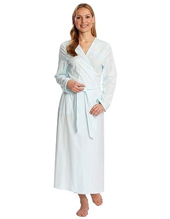 Rosch 1173545-10879 Women\'s Lime Green Cotton Dressing Gown Bath ...