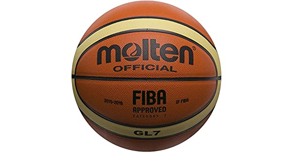 Amazon.com: Pelota de basketball de piel oficial de la FIBA ...