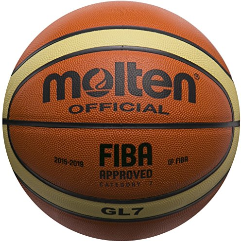 Molten BGL7 Leather Basketball Official Basketball of FIBA