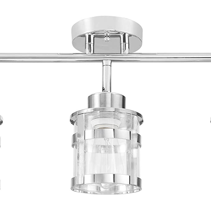 Amazon.com: Globe Electric Wexford 3 Track Lighting, Chrome ...