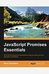 JavaScript Promises Essentials Paperback