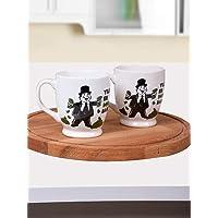 Keramika Ege Ayaklı Kupa, 8 cm