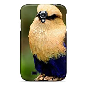 New Snap-on SuperMaryCases Skin Case Cover Compatible With Galaxy S4- Exotic Bird