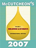 McCutcheon's Emulsifiers and Detergents : International Edition, Michael Allured, 1933430141