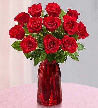 one-dozen-red-roses-with-red-vase-by-1-800-flowers